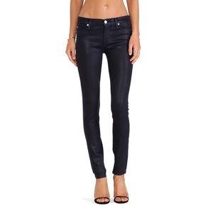 HUDSON Krista Super Skinny Black Jeans Sz 27